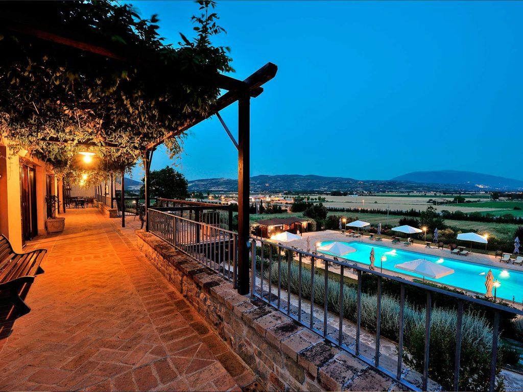 terrazza su Assisi
